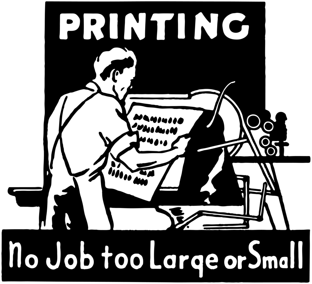 Printing no job too large or small - digital v's offset