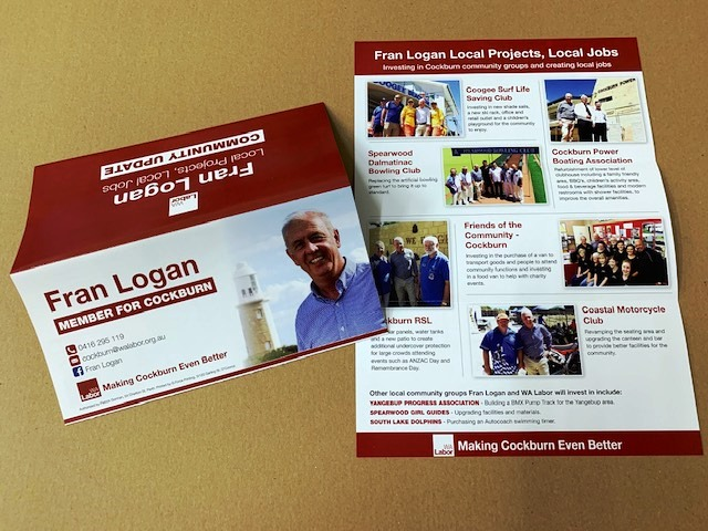 DL Flyer cards for Election Campaign