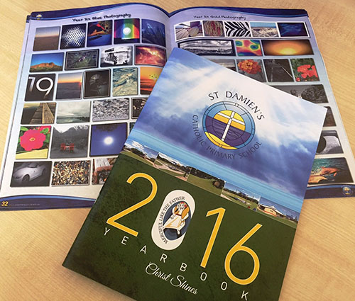 Saddle Stitch Printed Booklet – A4 School Year Book