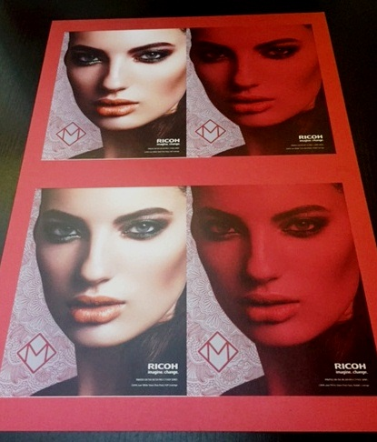 G Force Full Colour Digital Printing on Metalic Card